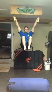 Hanging leg raise 2