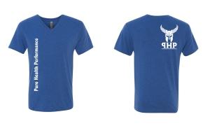blue tshirt mockup
