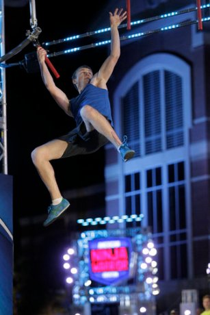 "AMERICAN NINJA WARRIOR -- ""Houston"" -- Pictured: Ryan McCoy -- (Photo by: Bob Levey/NBC)"